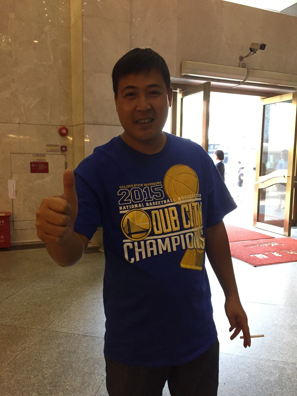 Sifu, Golden State's number one fan!