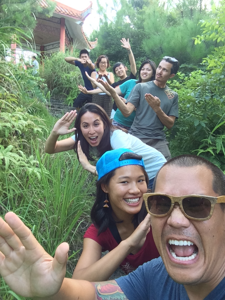 "harnessing our inner kung fu as if we're on the set of ""crouching tiger, hidden dragon"""