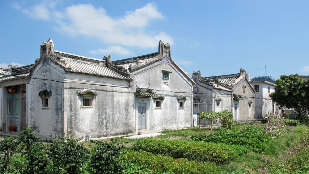 traditional domestic houses in Chaozhou