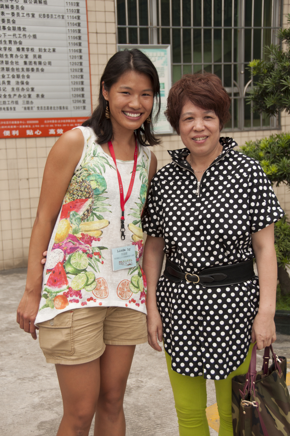 Grateful to have my aunt Ling Yi come from Hong Kong to attend my rooting.