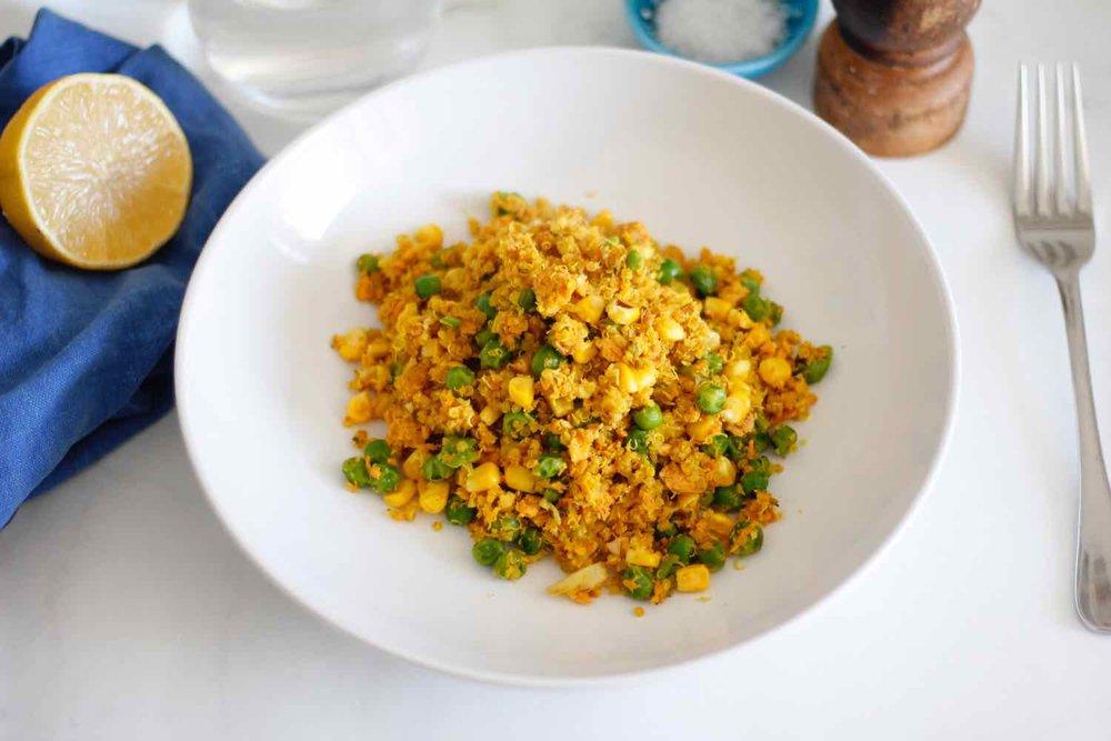 Meal prep magic salmon & quinoa for one
