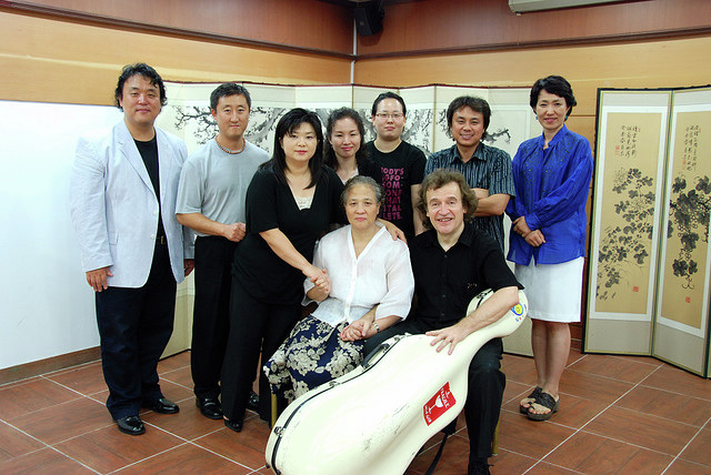 In Korea after the masterclass