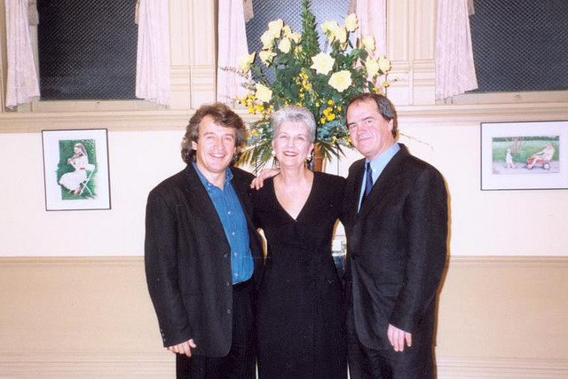 With Anita Whalen and conductor Hans Graf
