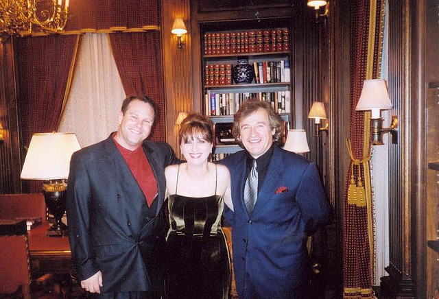 With violist Yariv Aloni and pianist Baya Kakouberi