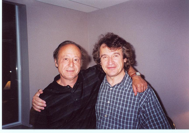 With violinist Vladimir Landsman