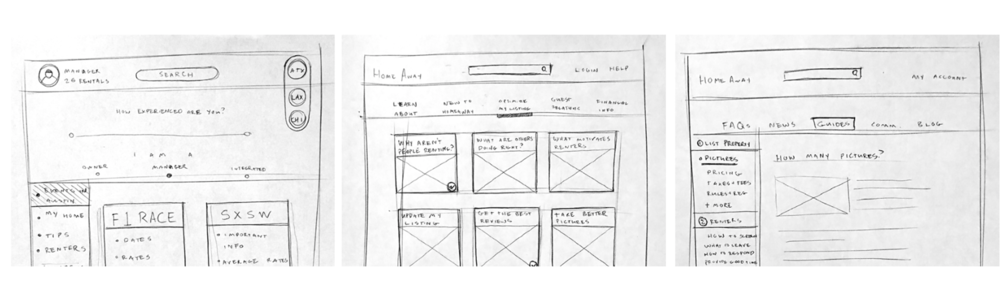 Staying Agile - Pen & Paper Wireframes