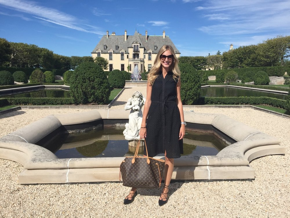 transitional dress with a castle backdrop - Transitional Castle 2016