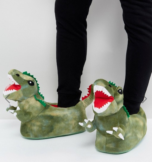 dinosaur feet!