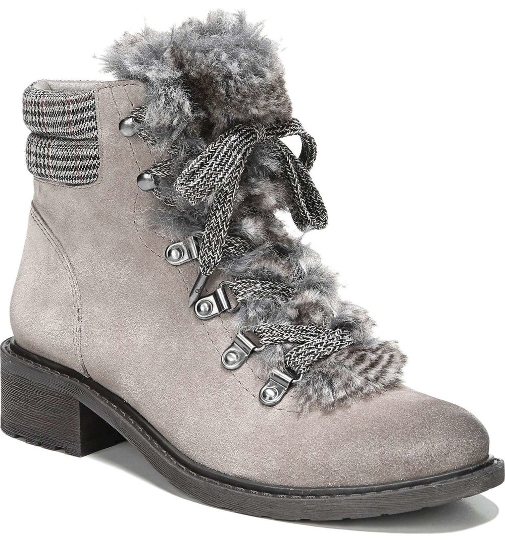 Sam Edelman Faux Fur Trim