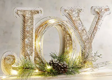 joy light up sign pier 1