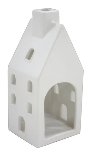 white ceramic house