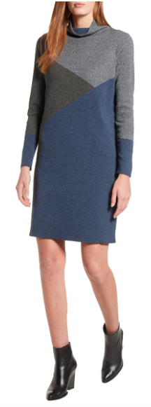 B.P. Cable Knit Sweater Dress