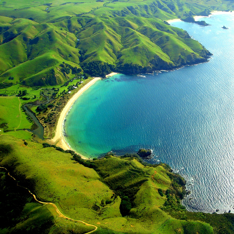 Beautiful New Zealand Bay
