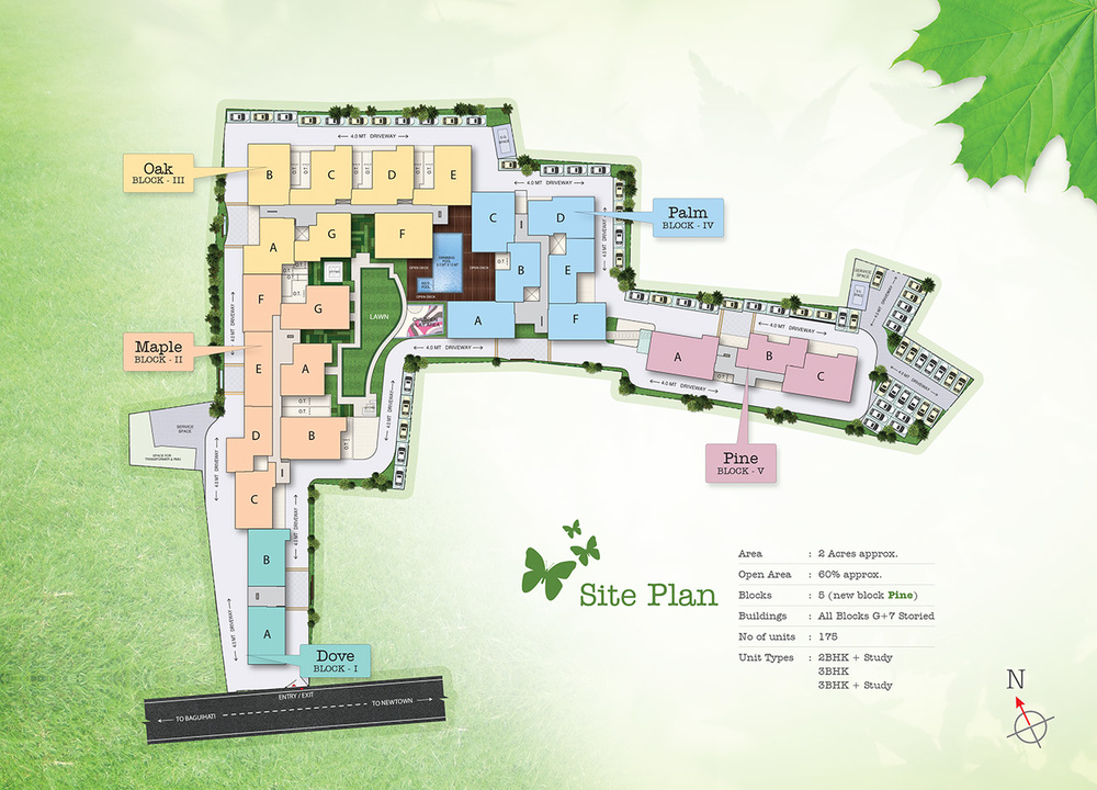 Site Plan Diagram