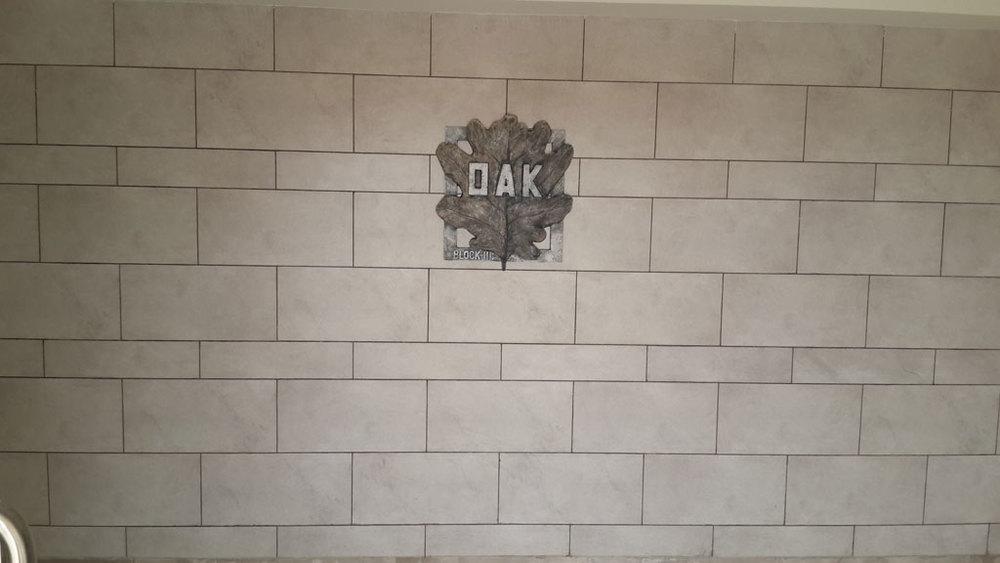 Ground Floor Lobby Feature Wall