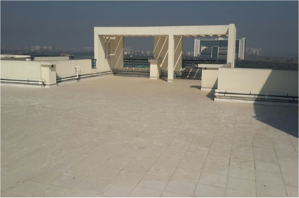 Solar Reflecting Tilling at Terrace