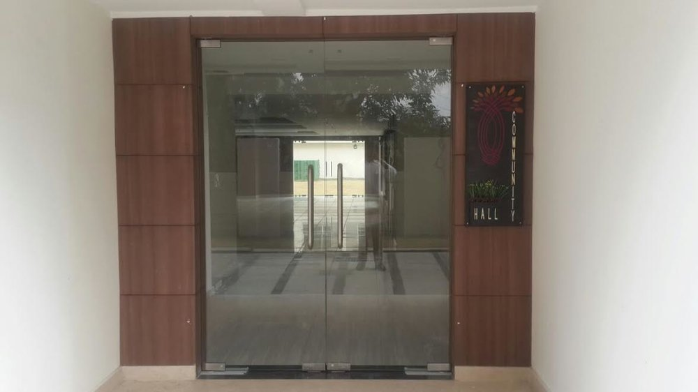 Community Hall Entrance