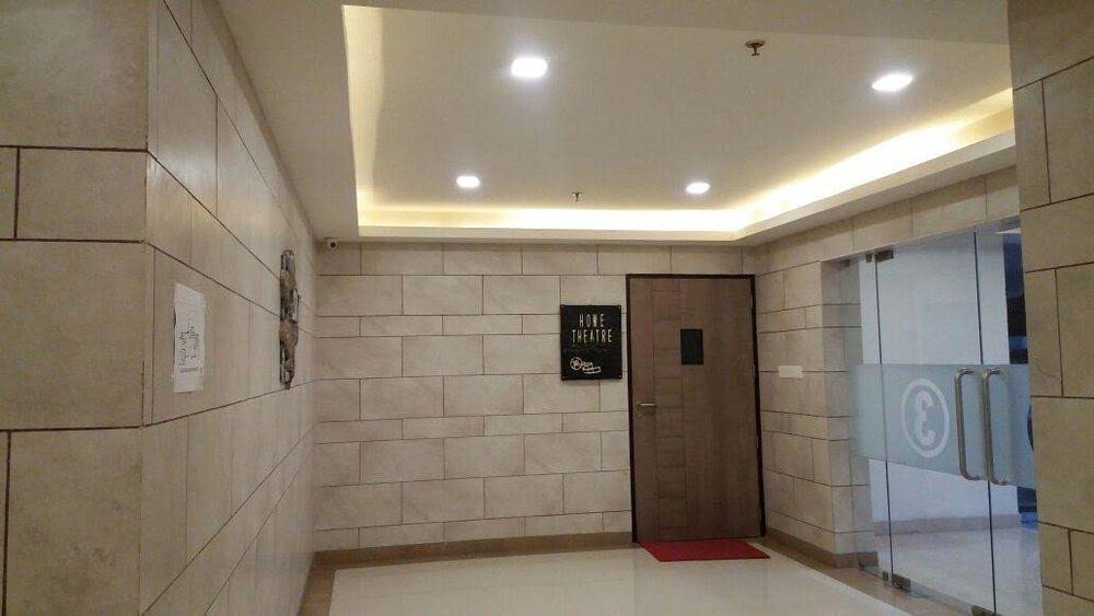 Home Theatre Entrance