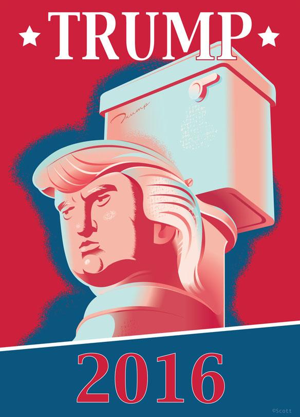 Trump Toilet: Photo courtesy of Tumblr