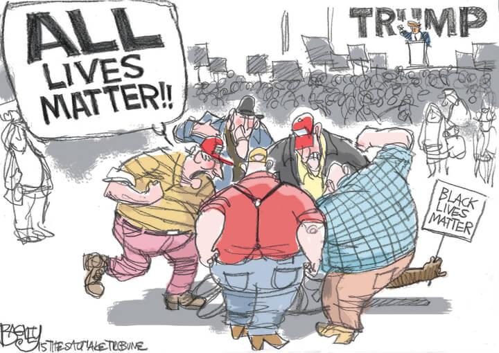All Lives Matter!! Courtesy of the LA Progressive