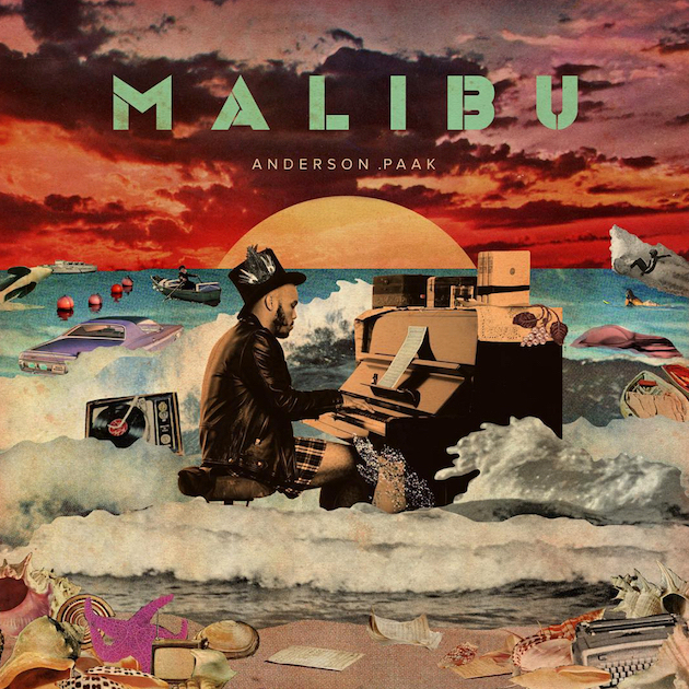 "Anderson.Paak - Malibu Hot Track: ""Room In Here"" ft. The Game and Sonyae Elise"