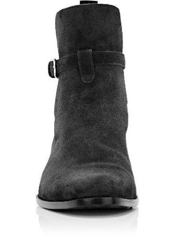 07c0b31ddbe Dark Gray Jodhpurs Ankle Leather Boot CMB-35. 35-1 Handmade men ...