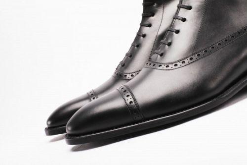 Men Laceup Boots Cmb 314 Curvento