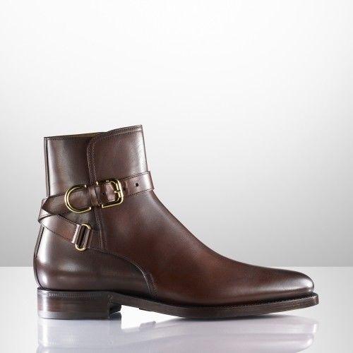 287b5a2cf347 Men Brown Jodhpurs Ankle BootCMB-396 — Curvento