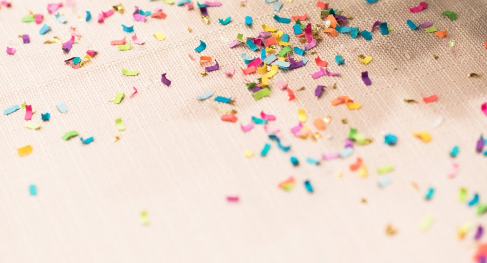 Welcome tothe She Can Coterie team! - We are throwing confetti because you are here!!