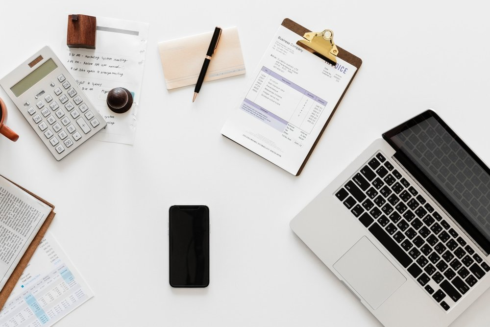 Full-Service Bookkeeping - 60-minute quarterly strategy calls, monthly financial statement preparation, account reconciliation, transaction recording and categorization, receipt management, plus email and phone support.
