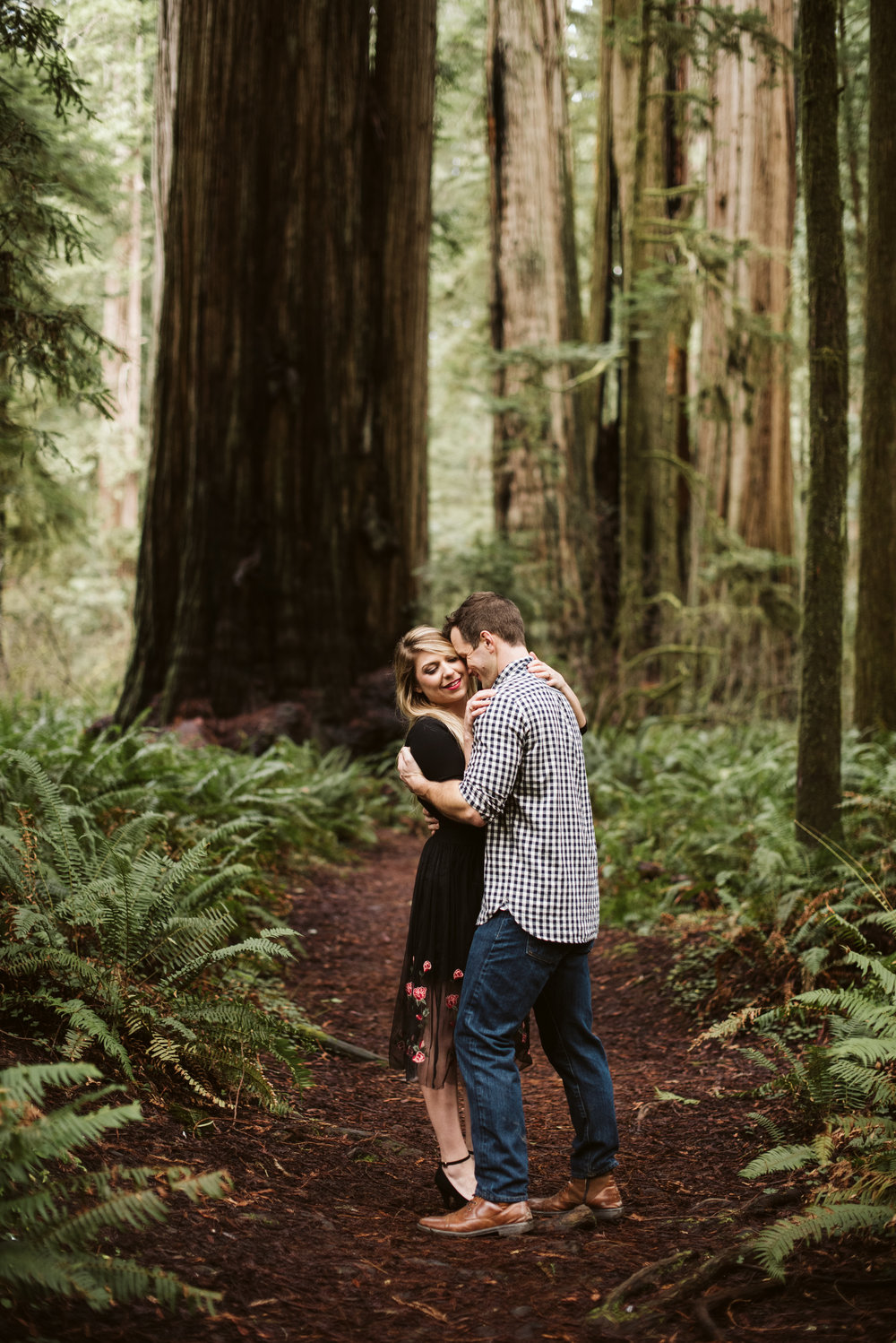Thyla and Nick Redwoods Engagement Session-85.jpg