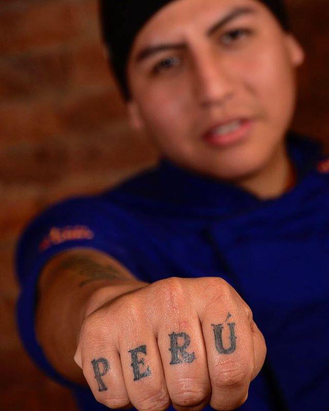 Somos Perú! 👊 🇵🇪️ Gracias Paulo por formar parte del equipo de #LaCausa 👊👊