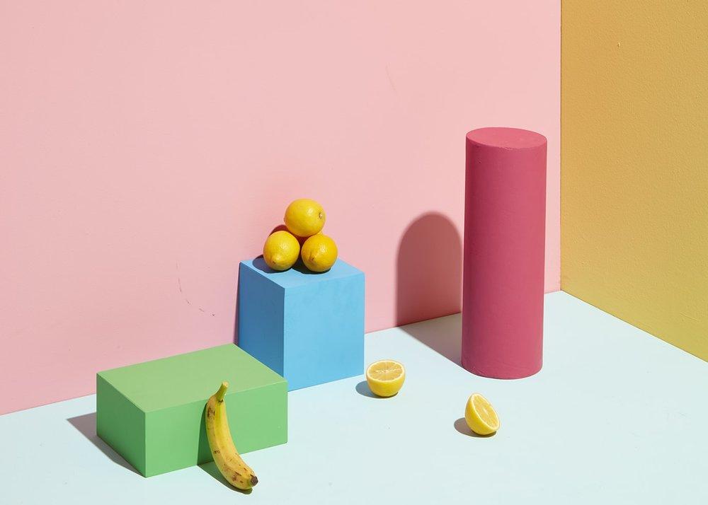 Colourful Set Design