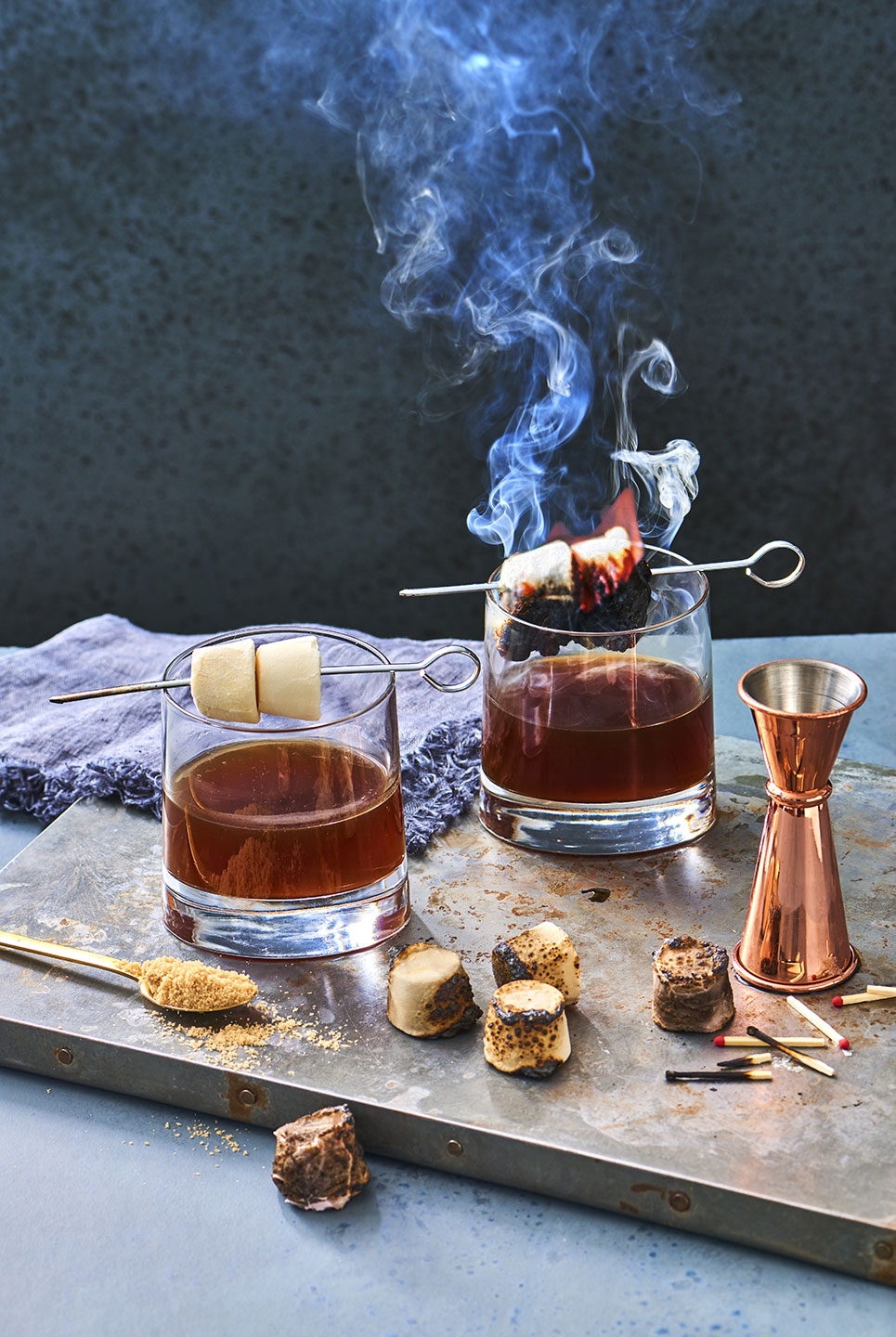 Whiskey, Coffee and Toasted Marshmellows
