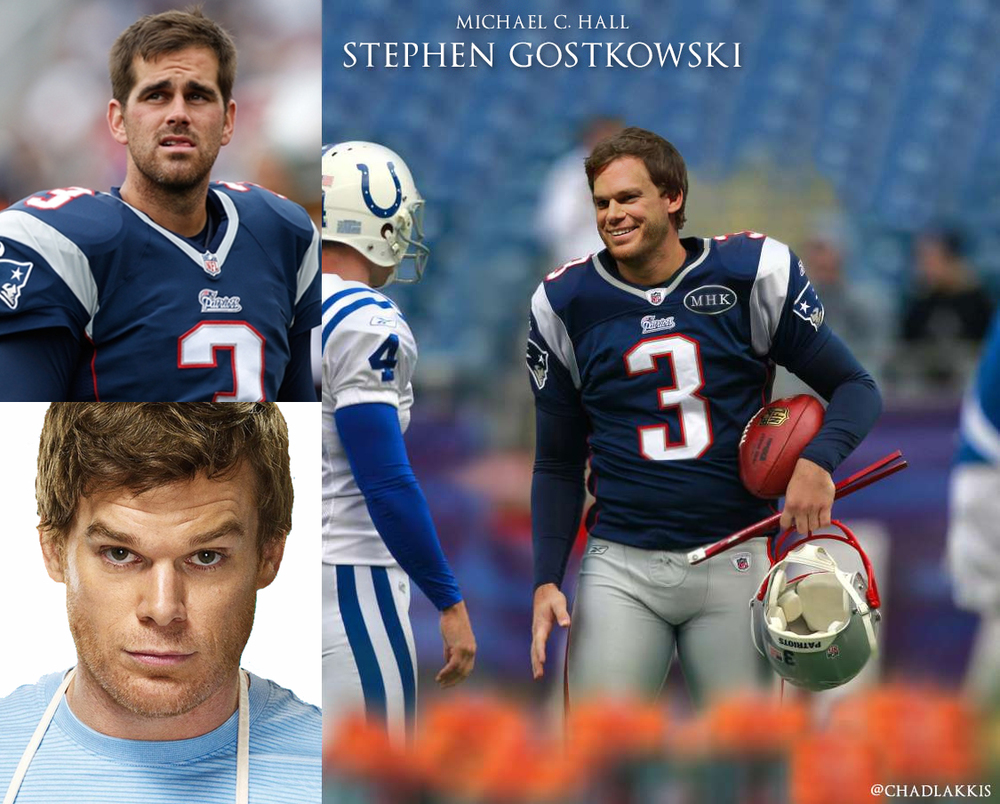 08 - Michael C Hall as Patriots Kicker Stephen Gostkowski.jpg