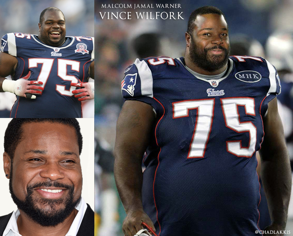 09 - Malcolm Jamal Warner as Patriots Nose Tackle Vince Wilfork.jpg