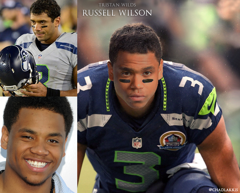 11 - Tristan Wilds as Seahawks Quarterback Russell Wilson.jpg