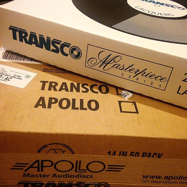 Oh. Yes. #lacquer #realtimevinyl #transco #apollo #mastering #records #music #audio #oh #yes