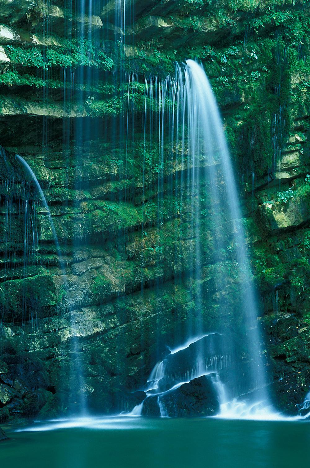 Cascade du Flumen, Jura, France