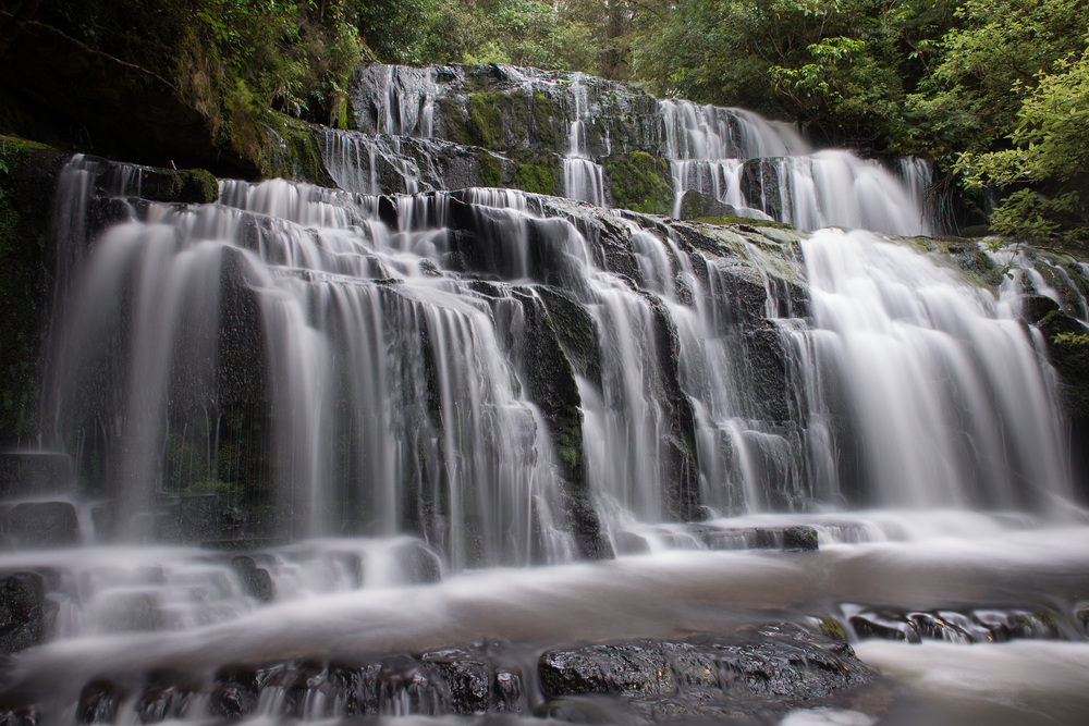 Purakaunui Falls, The Catlins, South Island, New Zealand