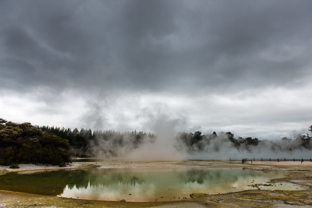Rotorua Geysers, New Zealand