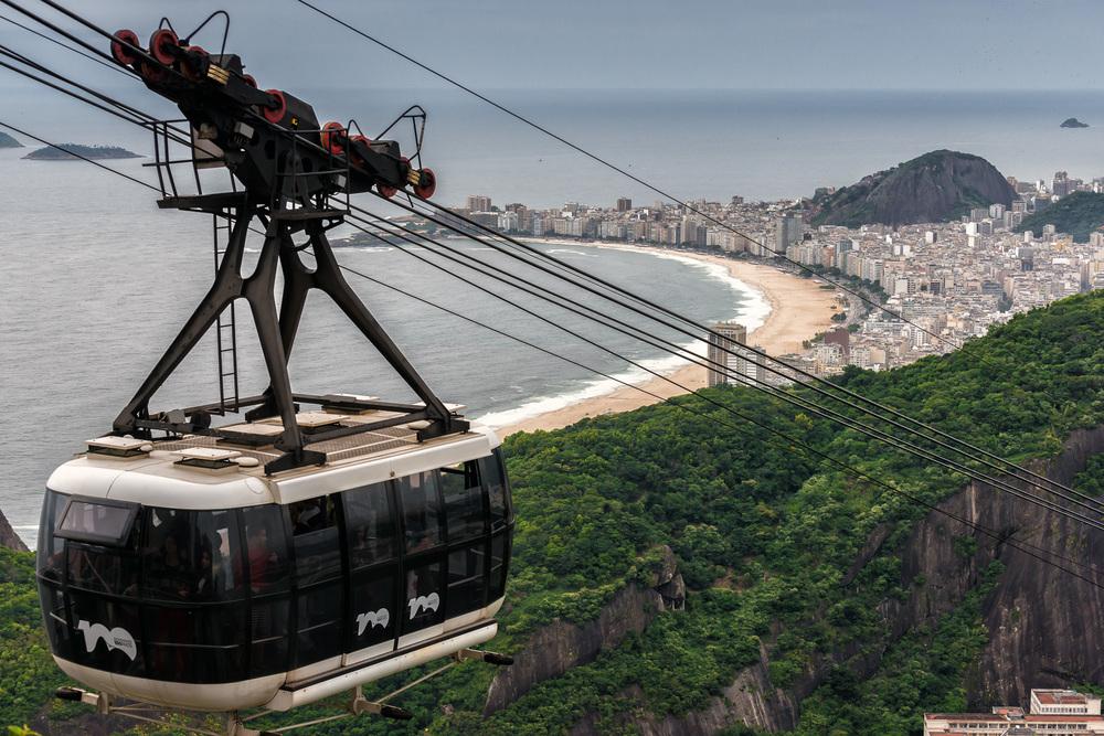 Morro do Pao de Açucar, Rio de Janeiro, Brasil