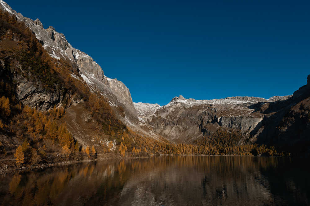 Lake Tseuzier, Valais, Switzerland