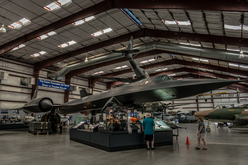 SR-71 Blackbird, Spy Plane, Pima Air & Space Museum , Tucson, USA
