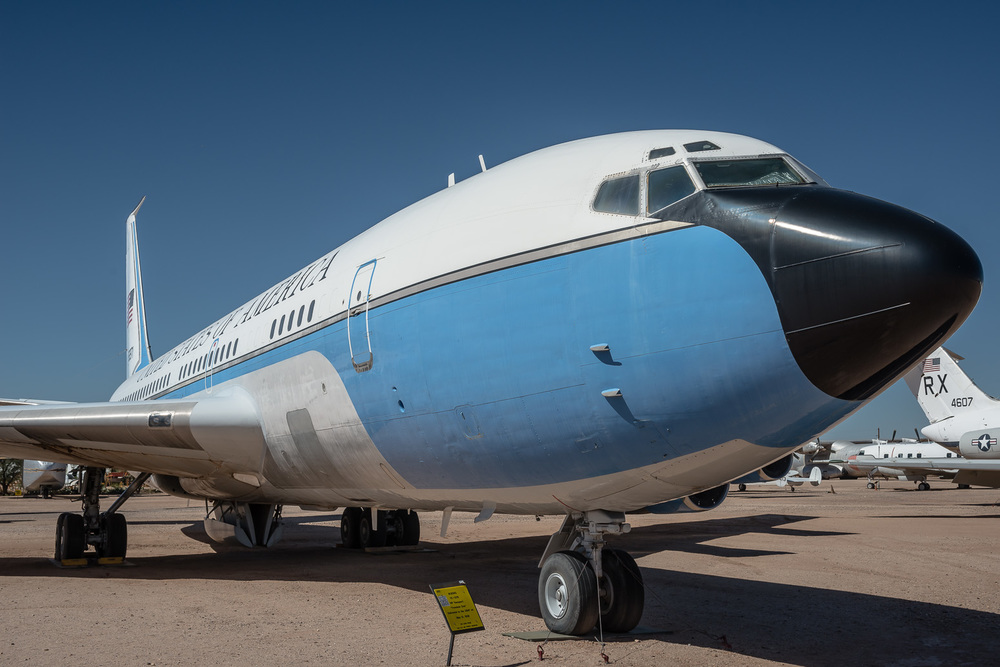 Boeing VC-137B VIP Transport, Pima Air & Space Museum , Tucson, USA