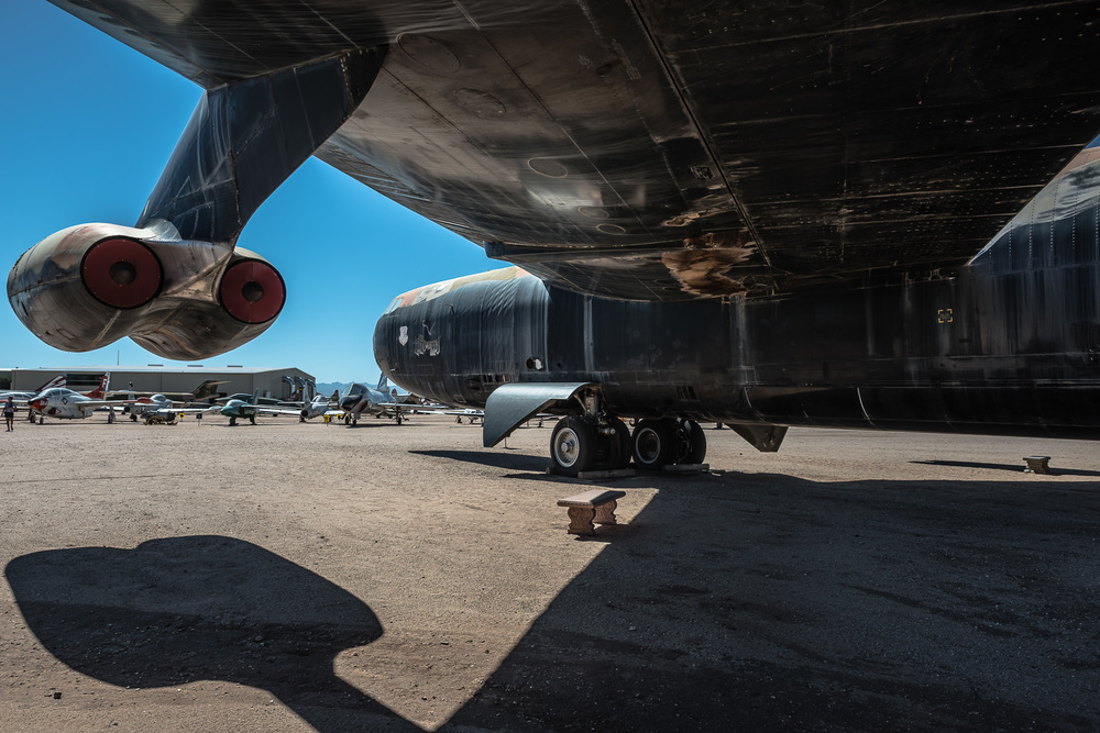 Boeing B-52D Stratofortress, Vietnam War, Pima Air & Space Museum , Tucson, USA