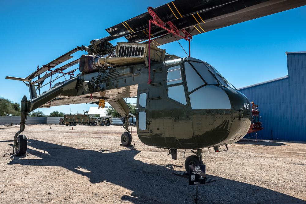Sikorsky CH-54A Skycrane, Pima Air & Space Museum , Tucson, USA