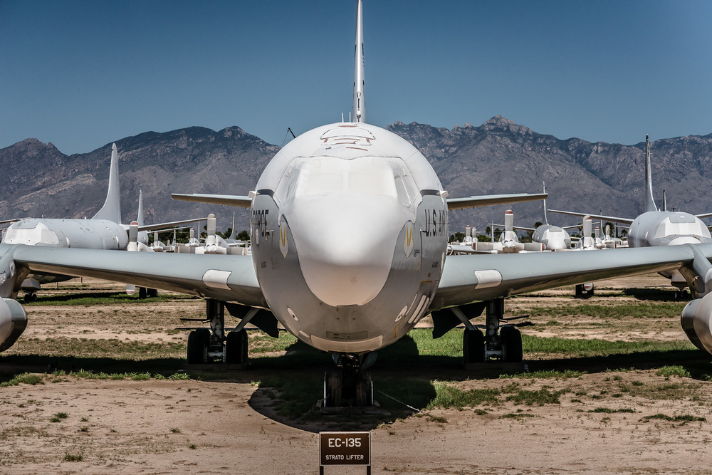 EC-135 Stratolifter, The Boneyard, Davis-Monthan Air Force Base, Tucson, USA