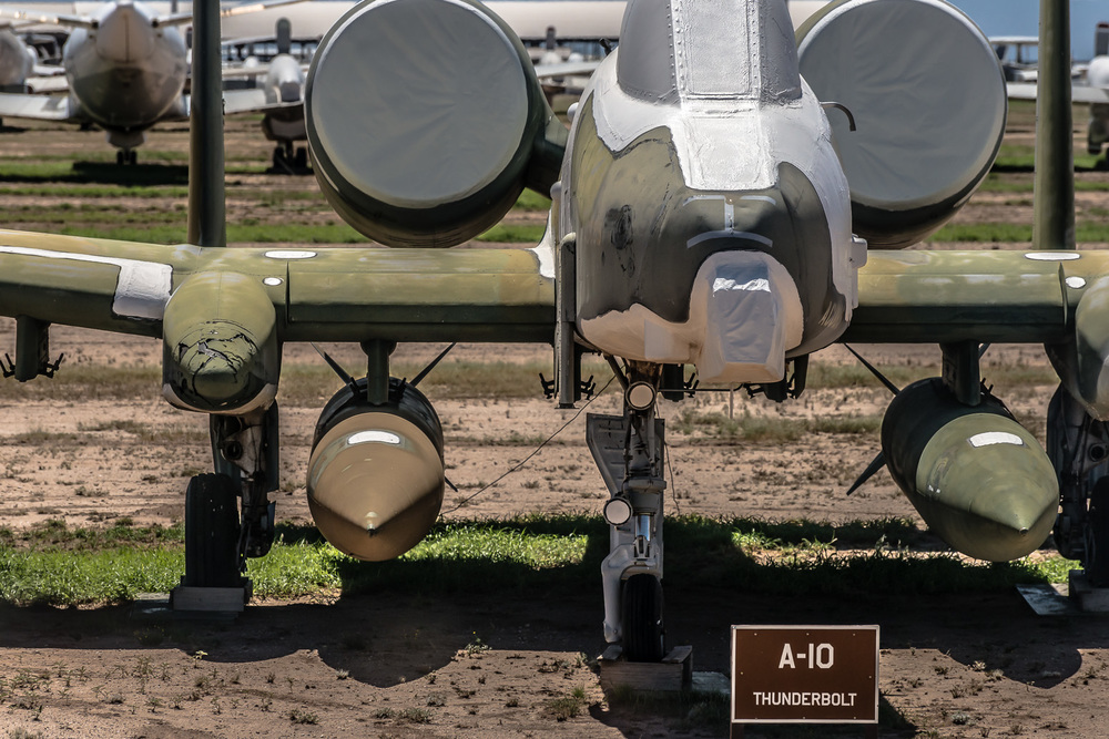 A-10 Thunderbolt, The Boneyard, Davis-Monthan Air Force Base, Tucson, USA