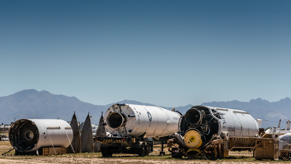 TITAN II ICBM, The Boneyard, Davis-Monthan Air Force Base, Tucson, USA